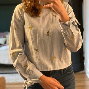 Fun and unique blouse
